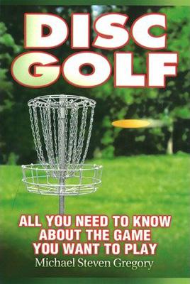 disc golf book cover