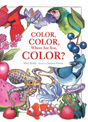 where are you color book cover